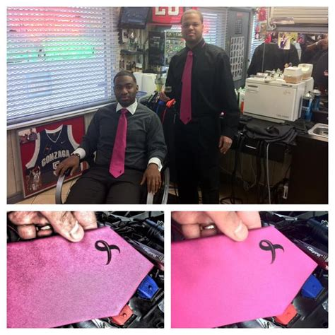 master barber spokane breast cancer awareness friday s larry s barbershop