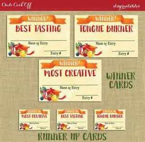 Chili Cook Off Certificate Template 17 Best Ideas About Chili Cook Off On Pinterest Cook