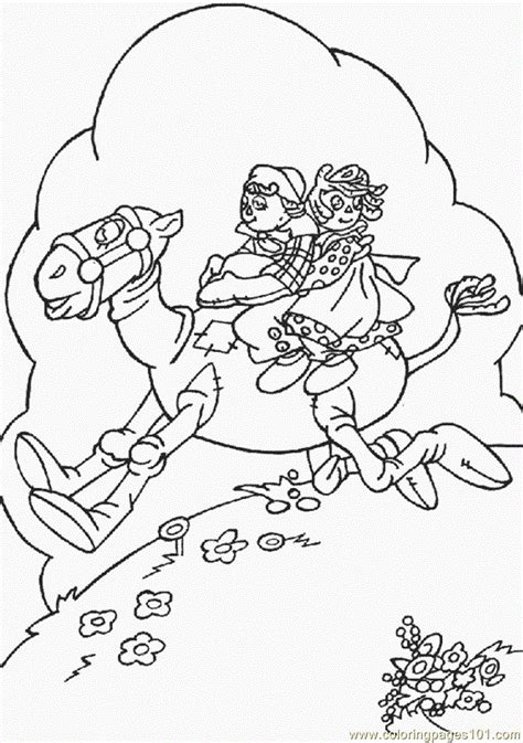 Raggedy Ann And Andy Coloring Page Free Raggedy Ann Raggedy And Andy Coloring Pages