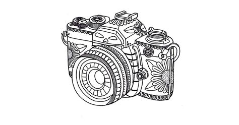 video camera coloring page get the coloring page camera free coloring pages for