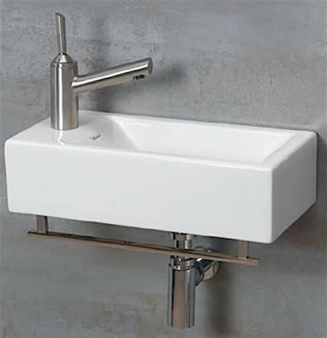 very small bathroom sinks 10 easy pieces wall mounted guest bath sinks by