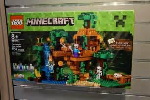 Minecraft Treehouse Videos - 21125 the jungle tree house minecraft brickpicker