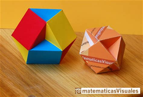 Origami Business - matematicas visuales the volume of a cuboctahedron ii