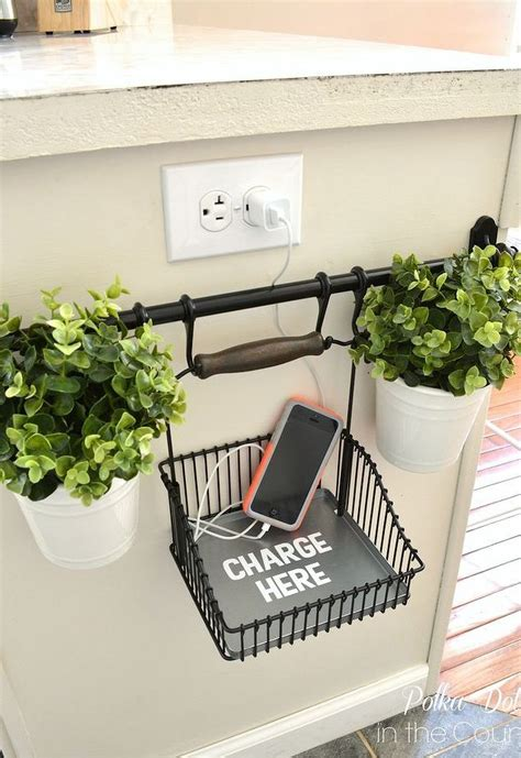 diy ipad charging station 11 easy diy charging stations for every space shelterness