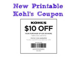 kohls 10 coupon 2017 2018 best cars reviews