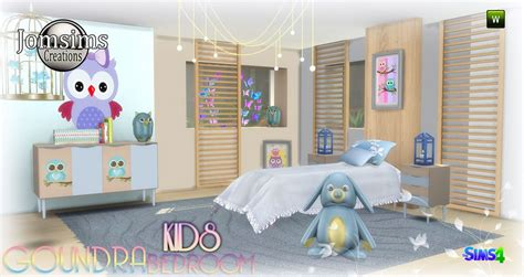 Large Wall Sticker chambre enfant sims 4