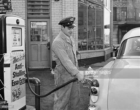 gas station attendant stock photos and pictures getty images
