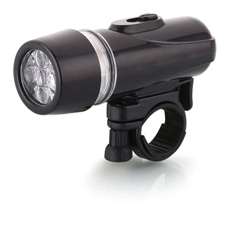 5 led front bike light
