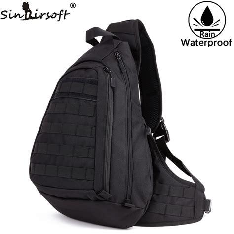 Promo 1 Set Backpack Slingbag Pouch Termurah new chest sling backpack s bags one single shoulder large travel backpacks