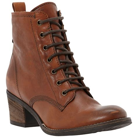 dune peetons leather boots for in brown lyst