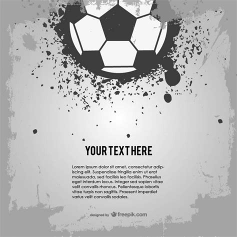 grunge design elements vector free soccer ball grunge design vector free download