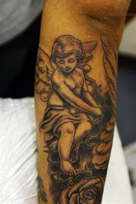 cherub angel tattoos designs cupid cherub images designs