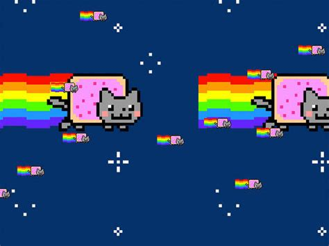 Nyan Meme - nyan cat pop tart cat know your meme