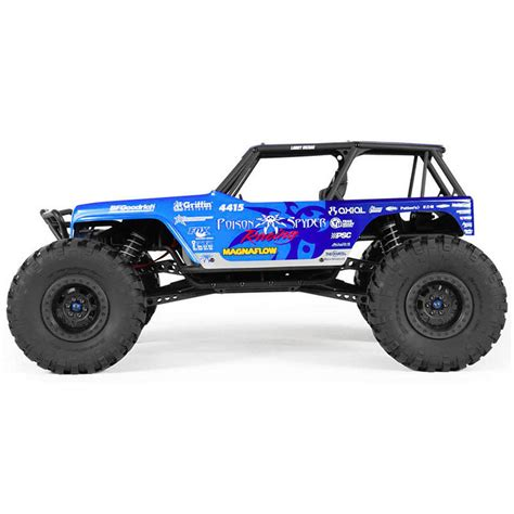 jeep rock crawler rc axial 90031 jeep wrangler wraith rc truck at hobby warehouse