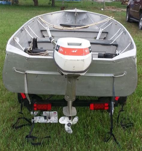 richline boats richline 16 ft aluminum fishing boat and trailer reduced