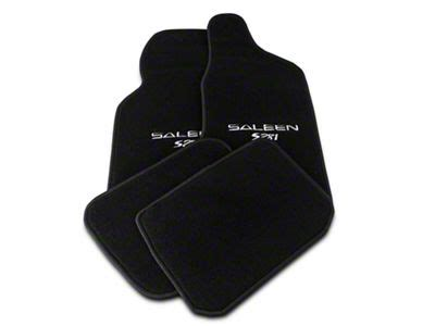 Saleen Floor Mats For Sale Saleen Mustang Front Rear Floor Mats W Saleen S281
