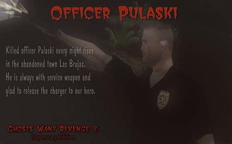 officer pulaski image ghosts  revenge  superscary