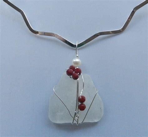 make sea glass jewelry sea glass choker jewelry journal
