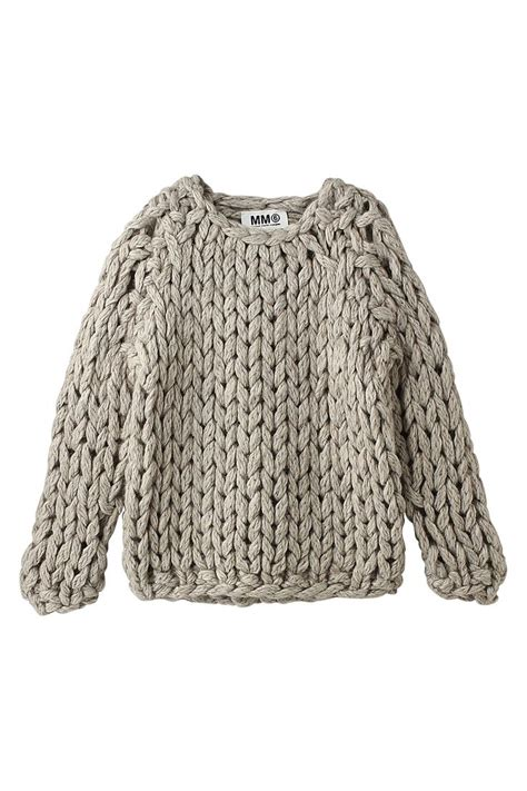 knitted jumper chunky knit closet