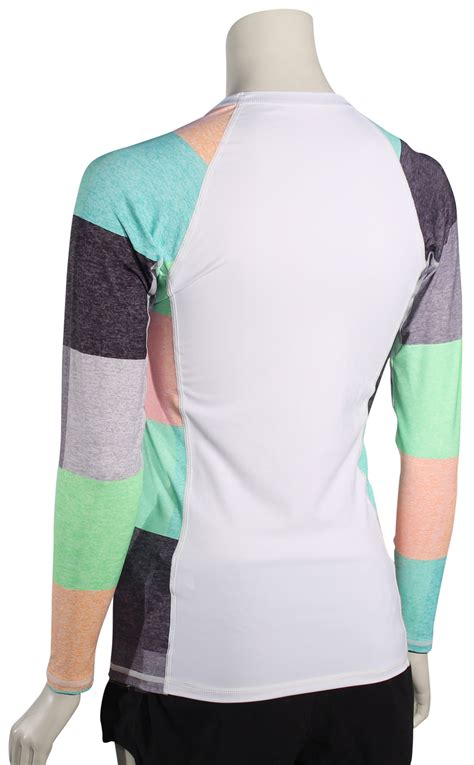 lava ls for sale hurley women s one only ls rash guard heather lava