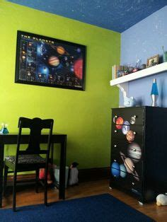 solar system bedroom decor solar system bedroom theme using black chalkboard paint