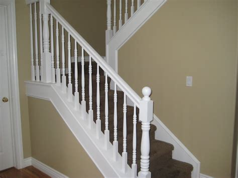 White Banister by Banister D 233 Finition What Is