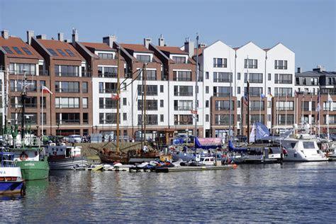 boten uit polen jachthaven van gdansk in polen redactionele stock foto