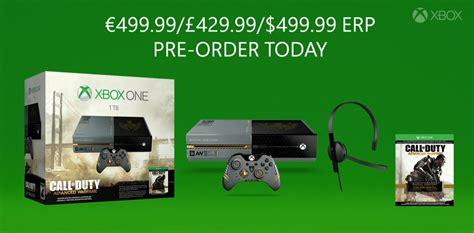Xbox One Siap Cod Jakse xbox one limited edition per call of duty advanced warfare