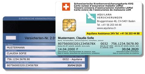 versicherung karte versichertenkarte aquilana