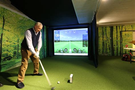 golf swing simulator skytrak system golf simulator golf swing systems