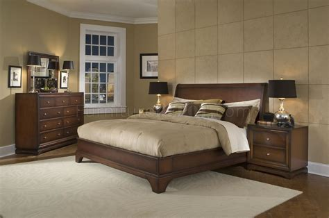 contemporary walnut bedroom furniture antique walnut finish contemporary bedroom
