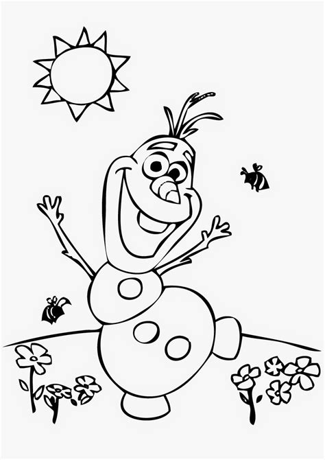 free coloring pages of olaf n