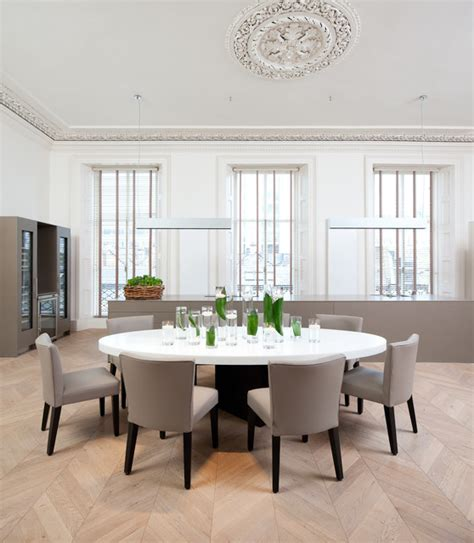 edinburgh town house dining room