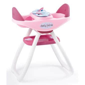 chaise haute jumeaux chaise haute jumeaux baby smoby accessoire poup 233 e