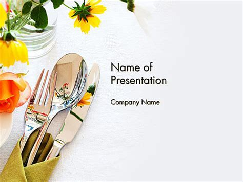 setting up a powerpoint template table setting ideas powerpoint template backgrounds