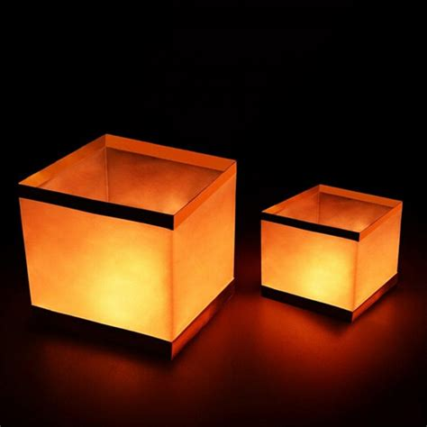 popular square paper lantern buy cheap square paper