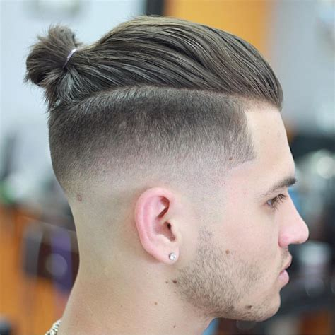 top knot mens hairstyles 20 top knot hairstyles ideas designs design trends