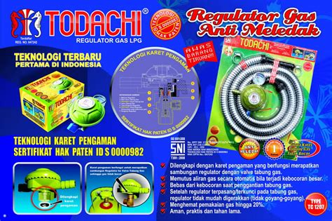 Sho Kuda Yang Asli regulator gas todachi regulator gas todachi asli pastikan