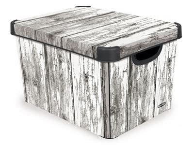 aufbewahrungsbox lederoptik deko platzsparend lagern boxen kisten und k 228 stchen f 252 r