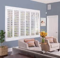 Blinds For Picture Windows - product page window treatments window coverings sunburst shutters