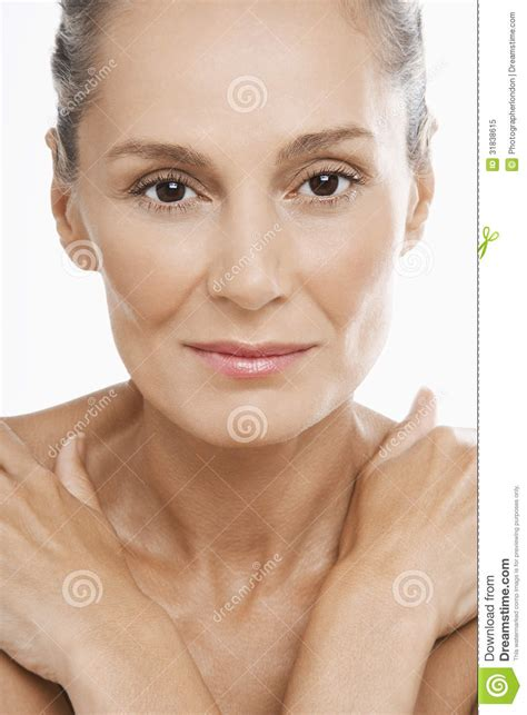 beautiful middle aged woman beautiful middle aged woman royalty free stock photo