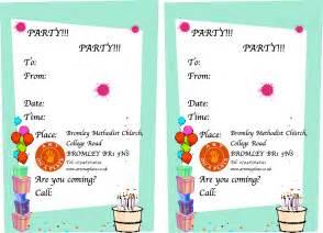 sle invitation card for birthday festival tech