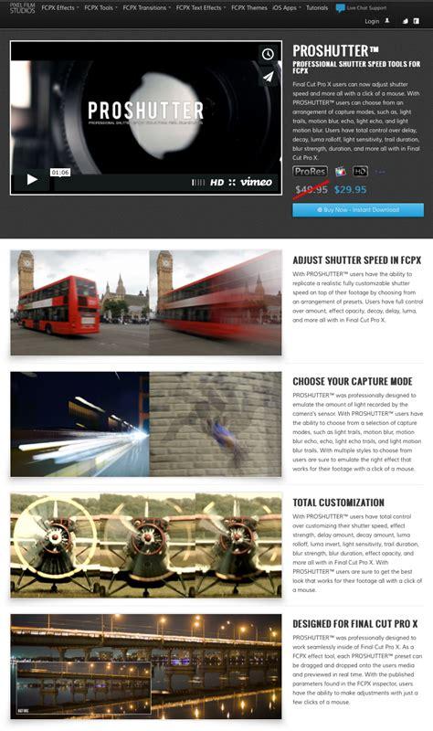 final cut pro x plugins pixel film studios released a new plugin entitled
