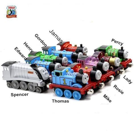 And Friends Percy Delivery Mail Diecast new 10pcs lot diecast metal and friends the tank engine trackmaster toys for