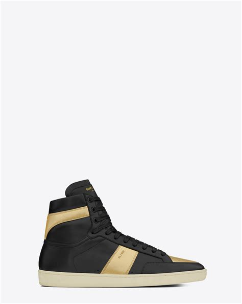 ysl sneaker laurent signature court classic sl 10h high top