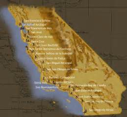 mission california map untitled document users humboldt edu
