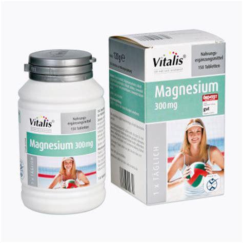 wann sollte magnesium tabletten einnehmen vitalis magnesium tabletten aldi nord