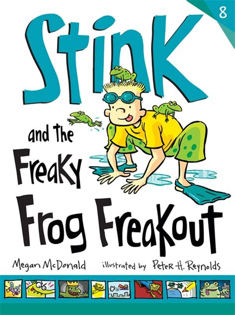steunk books walker books stink and the frog freakout