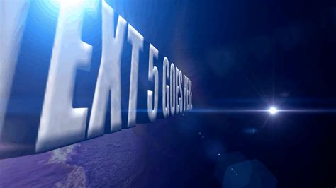 3d text after effects template after effects 3d text animation