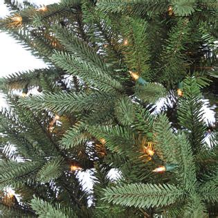 donner blitzen 7 5 pre lit montana fir tree with 800